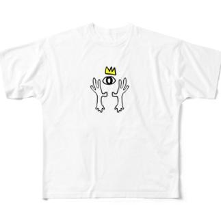 め、3 Full graphic T-shirts
