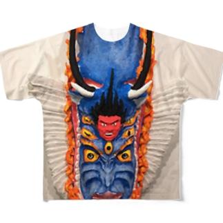 YAMANTAKA Full graphic T-shirts