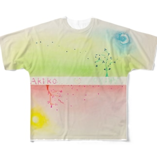 to Akikoシリーズ Full graphic T-shirts