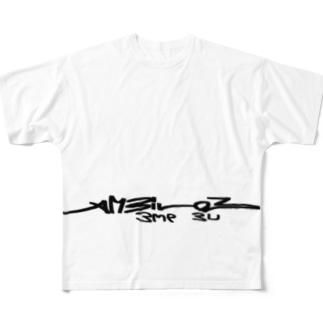 AMBILOB〜Bme BU〜 Full graphic T-shirts