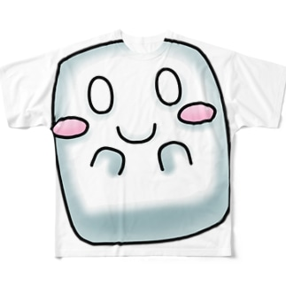 マシュマロくん2 Full graphic T-shirts