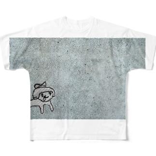 きりこちゃん フルグラフィックTシャツ