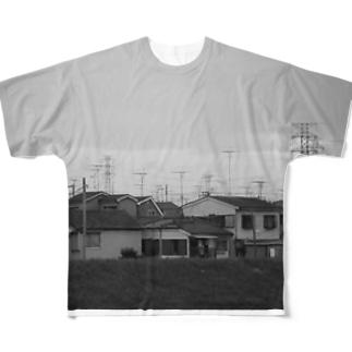 VHF フルグラフィックTシャツ