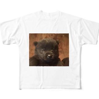甲斐犬  Full graphic T-shirts