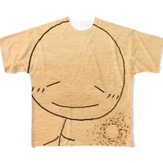 こころあたたか…ボーちゃん Full graphic T-shirts