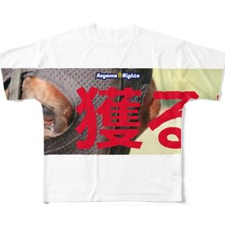 出陣!青山Nights Full graphic T-shirts