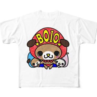ぼいお Full graphic T-shirts