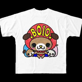 yucca-ticcaのぼいお Full graphic T-shirts