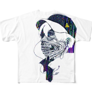 SKELMOADS Full graphic T-shirts