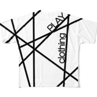 PLAY LINE ① Full graphic T-shirts