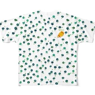 きぐまくんのお昼寝2 Full graphic T-shirts