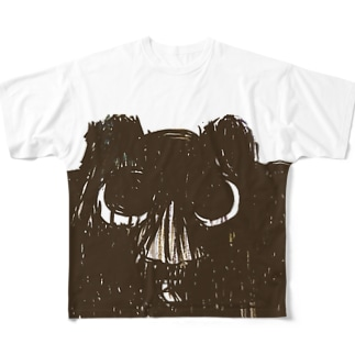 鉄子ちゃん② Full graphic T-shirts