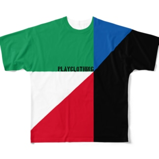 PLAY clothingのPLAY FULL COLOR ① Full graphic T-shirts
