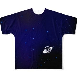 PLAY PLANET ① Full graphic T-shirts