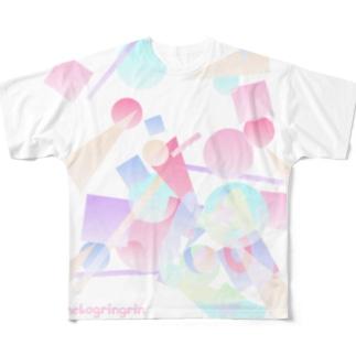 つもるよ Full graphic T-shirts