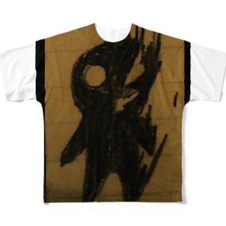 クロイモノ Full graphic T-shirts