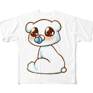 ベイビーきょん Full graphic T-shirts