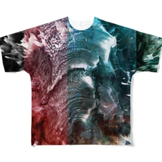 fire Full graphic T-shirts