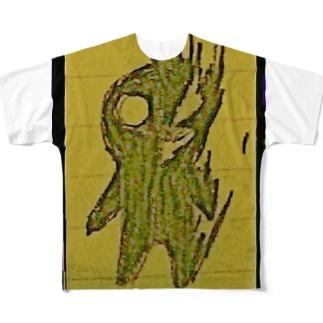 クロイモノ? Full graphic T-shirts