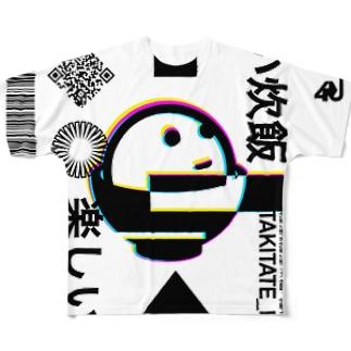 【10着限定】ほかまる(限定版) フルグラフィックTシャツ