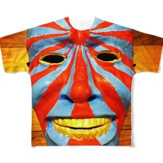 太陽仮面男 Full graphic T-shirts