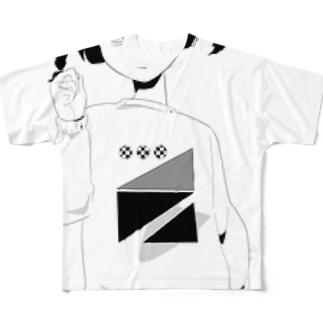 キメキメ平塚さん Full graphic T-shirts