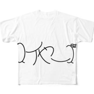 スイヤーズ(文字) Full graphic T-shirts