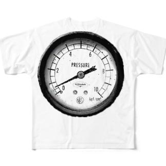 圧 Full graphic T-shirts