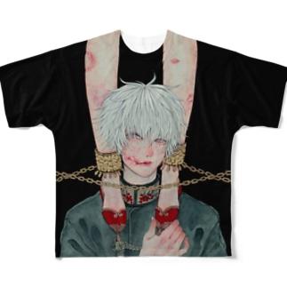 口癖 Full graphic T-shirts