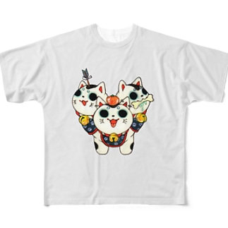 戌戌戌 Full graphic T-shirts