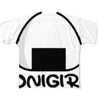 おにぎりTシャツ -onigiri- Full graphic T-shirts