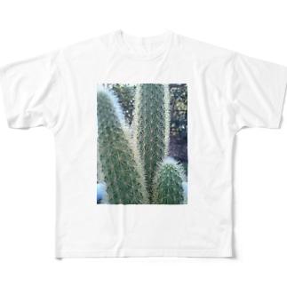 サボちゃん Full graphic T-shirts