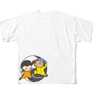 考えるな☆感じろ Full graphic T-shirts