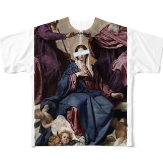 沙茶強 Full graphic T-shirts
