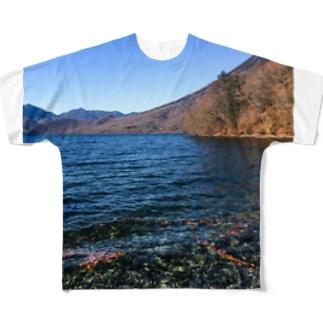 中禅寺湖1 Full graphic T-shirts
