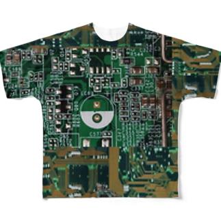 基板迷彩 Full graphic T-shirts
