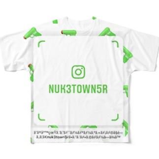 俺のインスタ Full graphic T-shirts