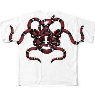Snakyzシリーズ Full graphic T-shirts