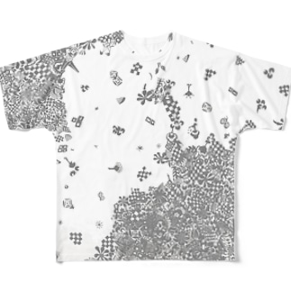 snow Full graphic T-shirts