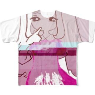 生意気Girlitci Full graphic T-shirts