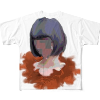 ボブちょんぱ Full graphic T-shirts