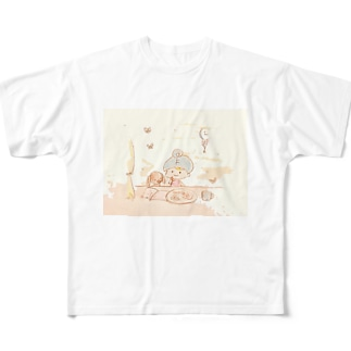 tea time Full graphic T-shirts
