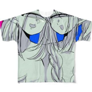 くすくすちゃんズ Full graphic T-shirts