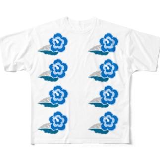 ワイハ気分 Full graphic T-shirts