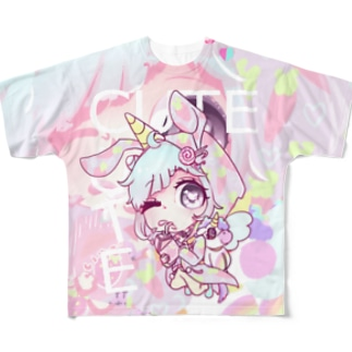 アルミラちゃん Full graphic T-shirts