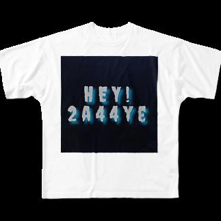 おじゃす🤲のヘイトニ Full graphic T-shirts