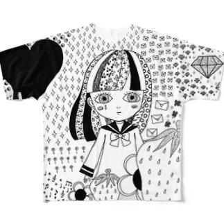 或る恋のうた Full graphic T-shirts