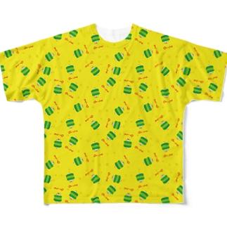 お茶畑くん フルグラフィックTシャツ