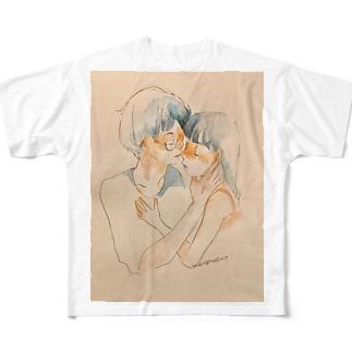 「おやすみなさい」 Full graphic T-shirts