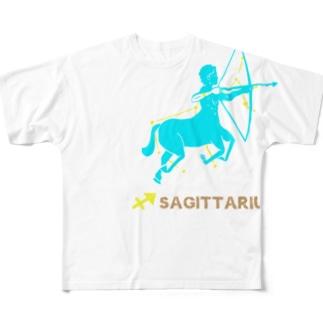 射手座グッズ Full graphic T-shirts